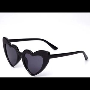 Other - Girls kids heart Shaped Sunglasses
